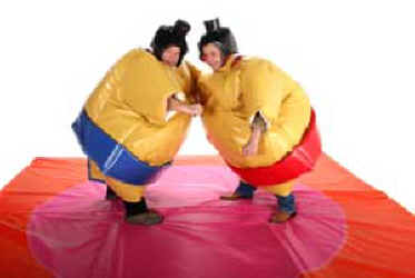 how to win sumo suit wrestling
